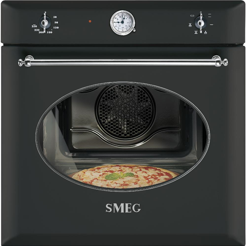 Smeg sf850apz forno pizza ventilato coloniale for Forno ventilato pizza