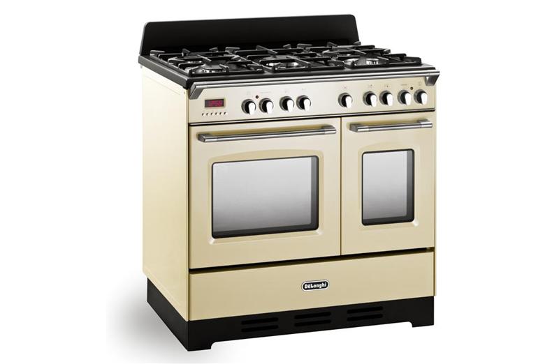 De longhi cucina mastercook mem965tba 90x60 beige - Delonghi cucina a gas ...